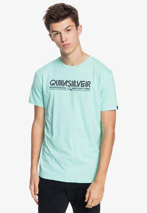 LIKE GOLD - Print T-shirt - turquoise