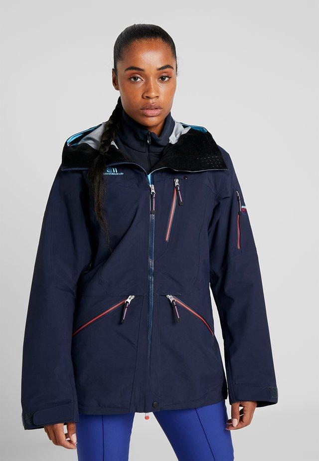 BACKSIDE JACKET - Ski jacket - dark navy