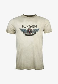 TOP GUN - Print T-shirt - olive - 0
