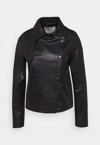 Oakwood - HARMONY - Leather jacket - black - 5