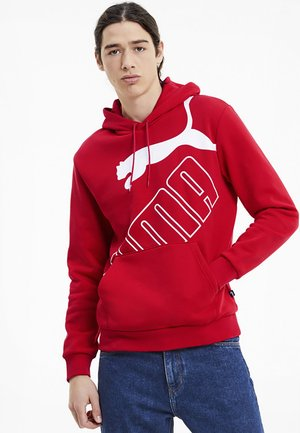 BIG - Hoodie - high risk red