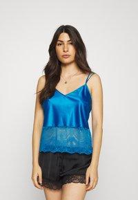 Marks & Spencer London - AUTO CAMI - Pyjama top - bright blue - 0