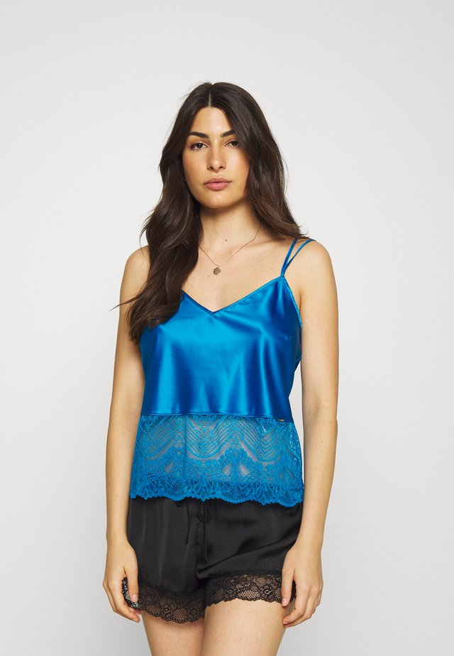 AUTO CAMI - Pyjamasoverdel - bright blue