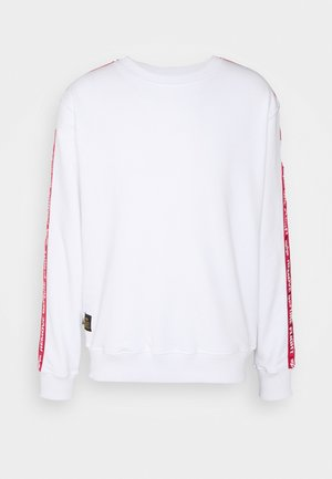 TAPE SWEATER - Mikina - white
