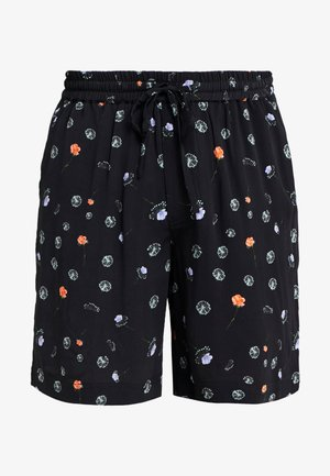 BOB PRINT SHORTS - Shorts - black