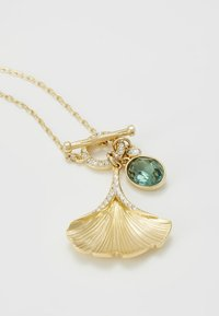 Swarovski - STUNNING NECKLACE GINKO - Necklace - gold-coloured - 5