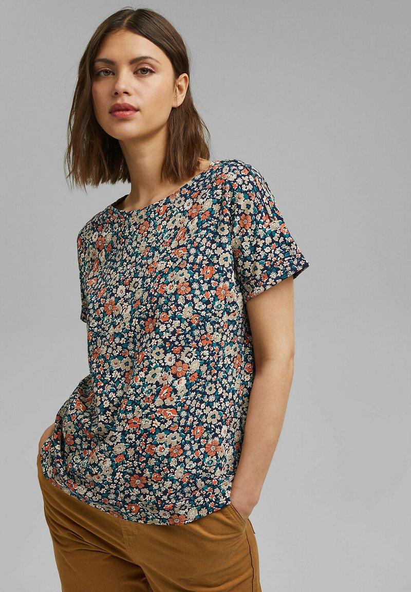 Esprit - T-shirt imprimé - navy blue