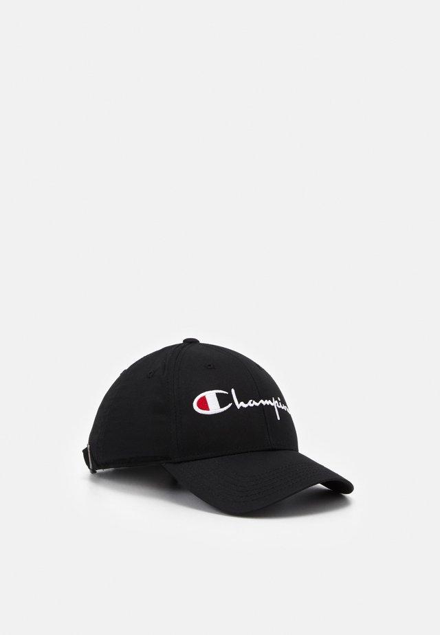 CURVED VISOR UNISEX - Cap - black