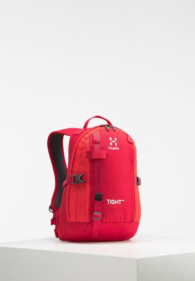 TIGHT X-SMALL - Hiking rucksack - rich red/pop red