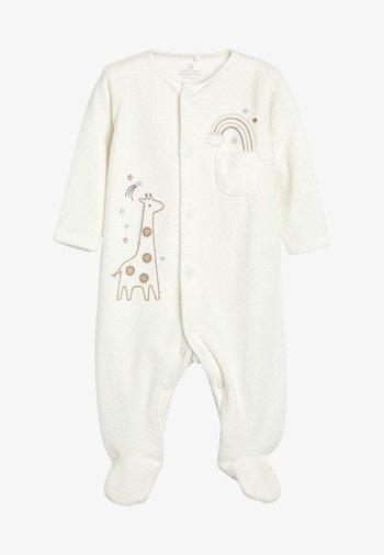 Pijama de bebé - off-white