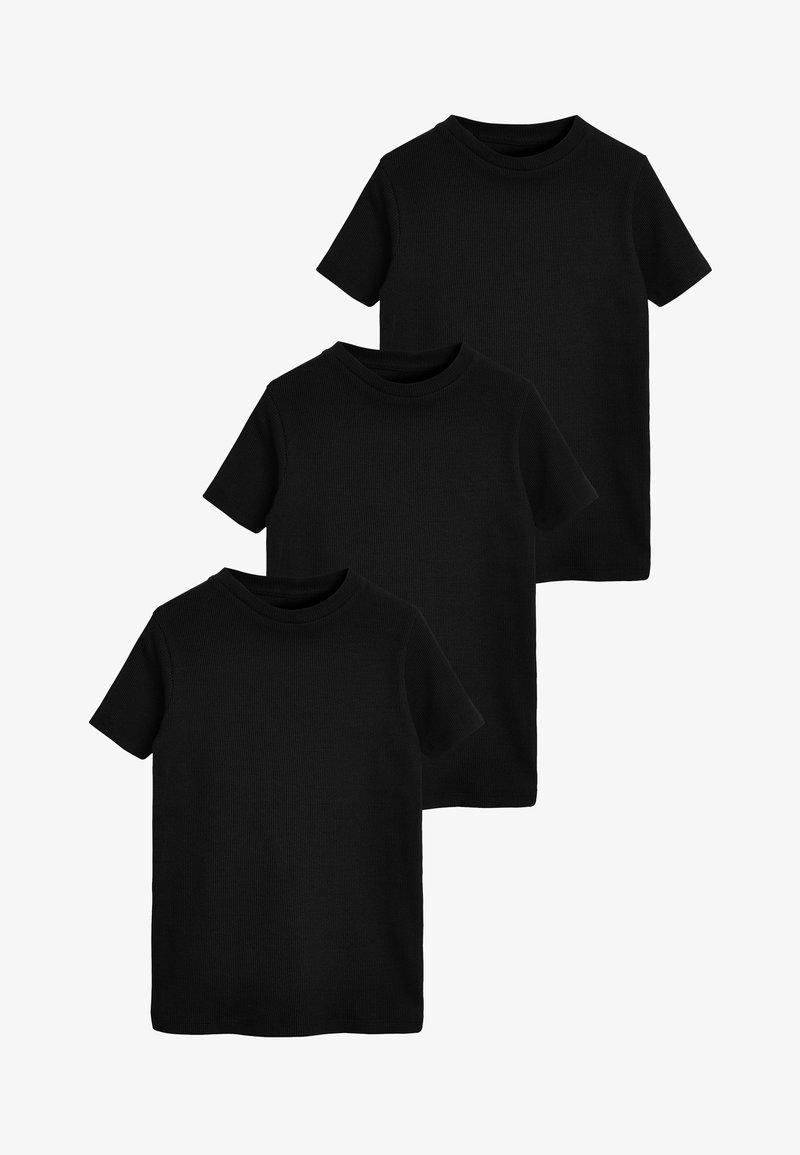 Next - 3 PACK GOTS - Camiseta básica - black