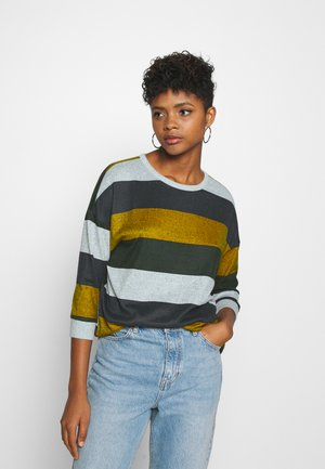 JDYTONSY TOP  - Sweter - light grey melange/harvest gold
