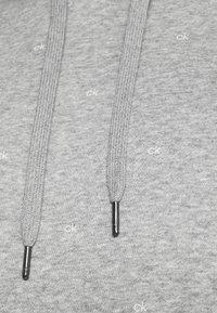 Calvin Klein Golf - ALL OVER PRINT HOODIE - Sweatshirt - grey - 4