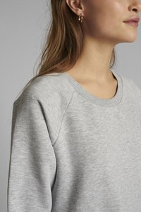 Nümph - NUNANNA DRESS - Day dress - light grey melange - 2