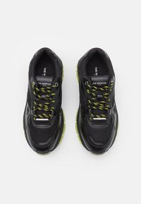The Kooples - ACCESS SHOES - Trainers - black/yellow - 3