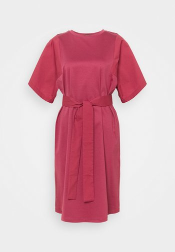 LARI - Jersey dress - dunkelmauve