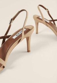 NA-KD - High heeled sandals - beige - 3