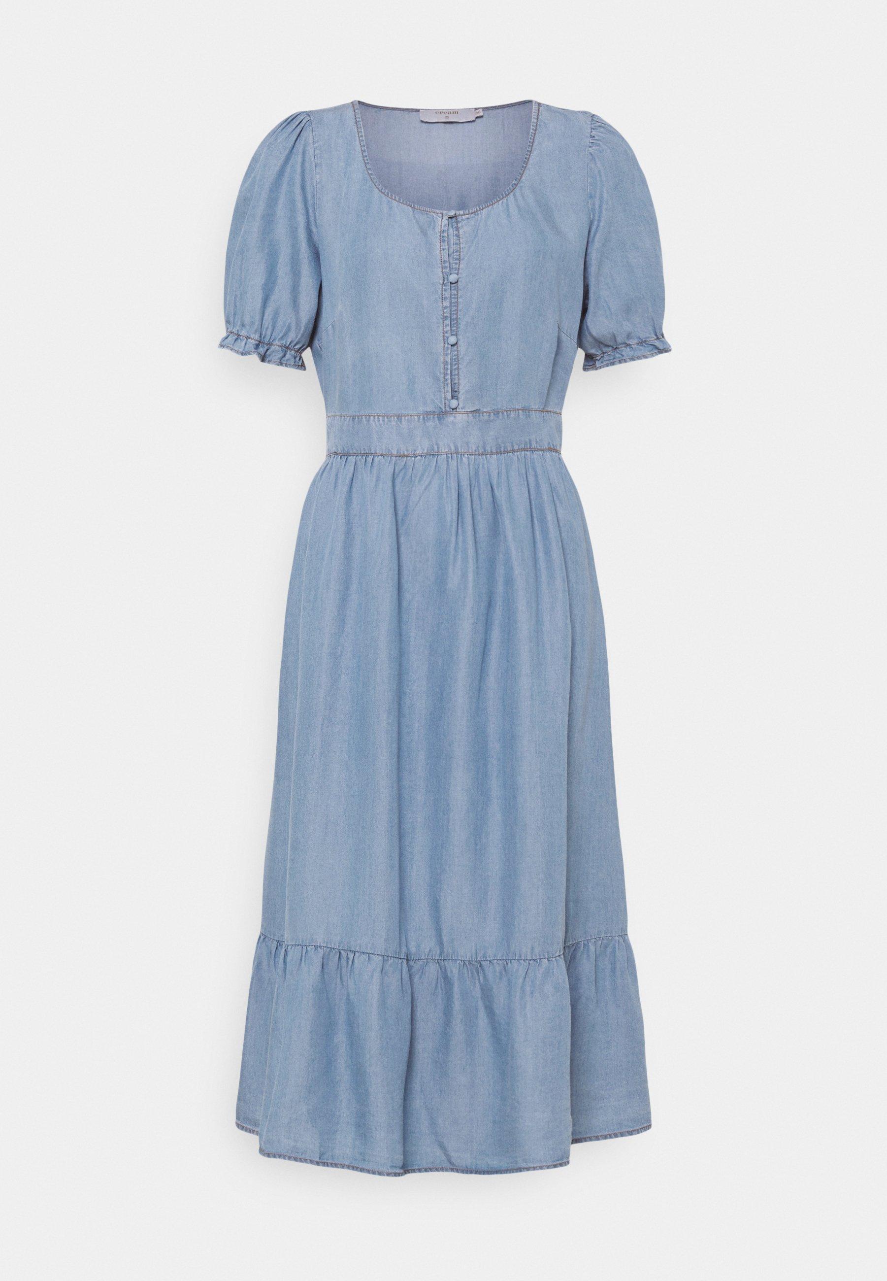 Women AMIRA FLOUNCE DRESS - Maxi dress