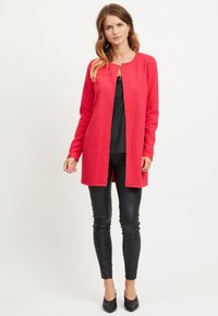 Vila - VINAJA NEW LONG JACKET - Summer jacket - barberry