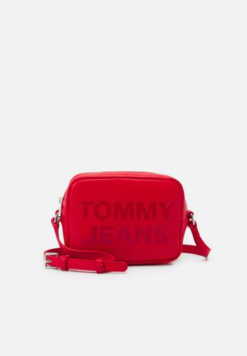 CAMERA BAG - Across body bag - red