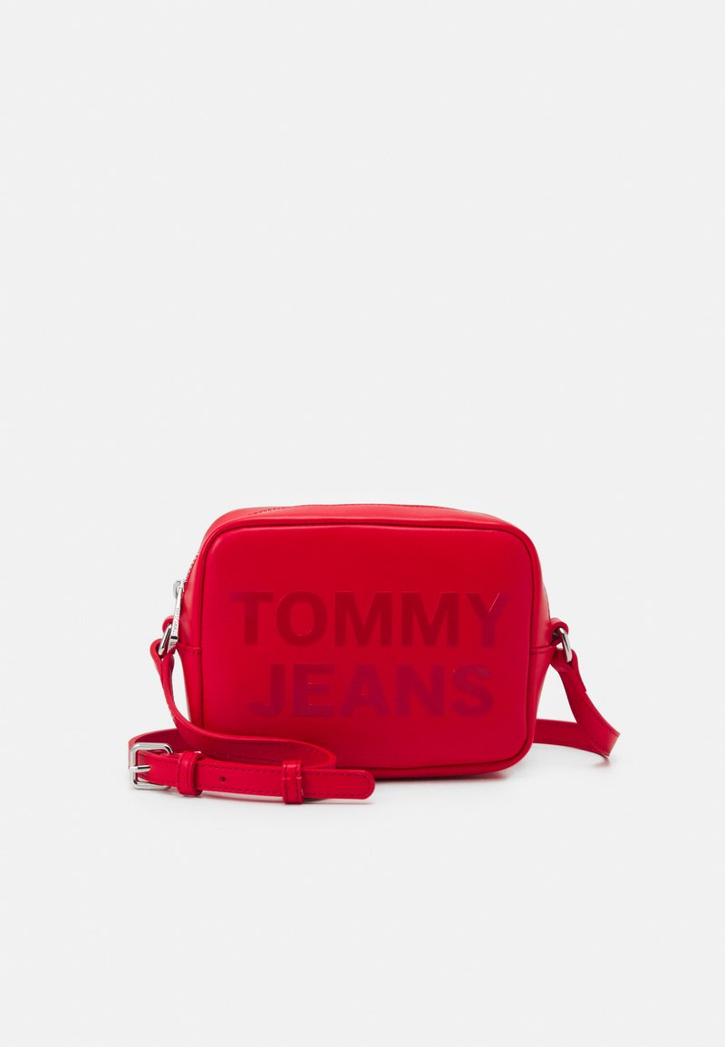 Tommy Jeans - CAMERA BAG - Across body bag - red
