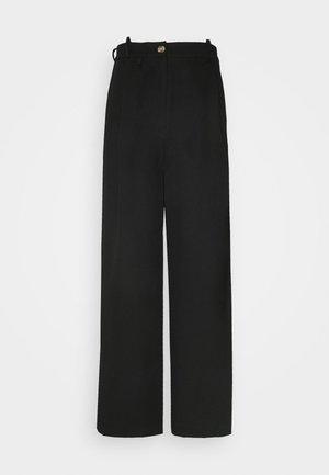 ANGELLA WIDE TROUSER - Trousers - black