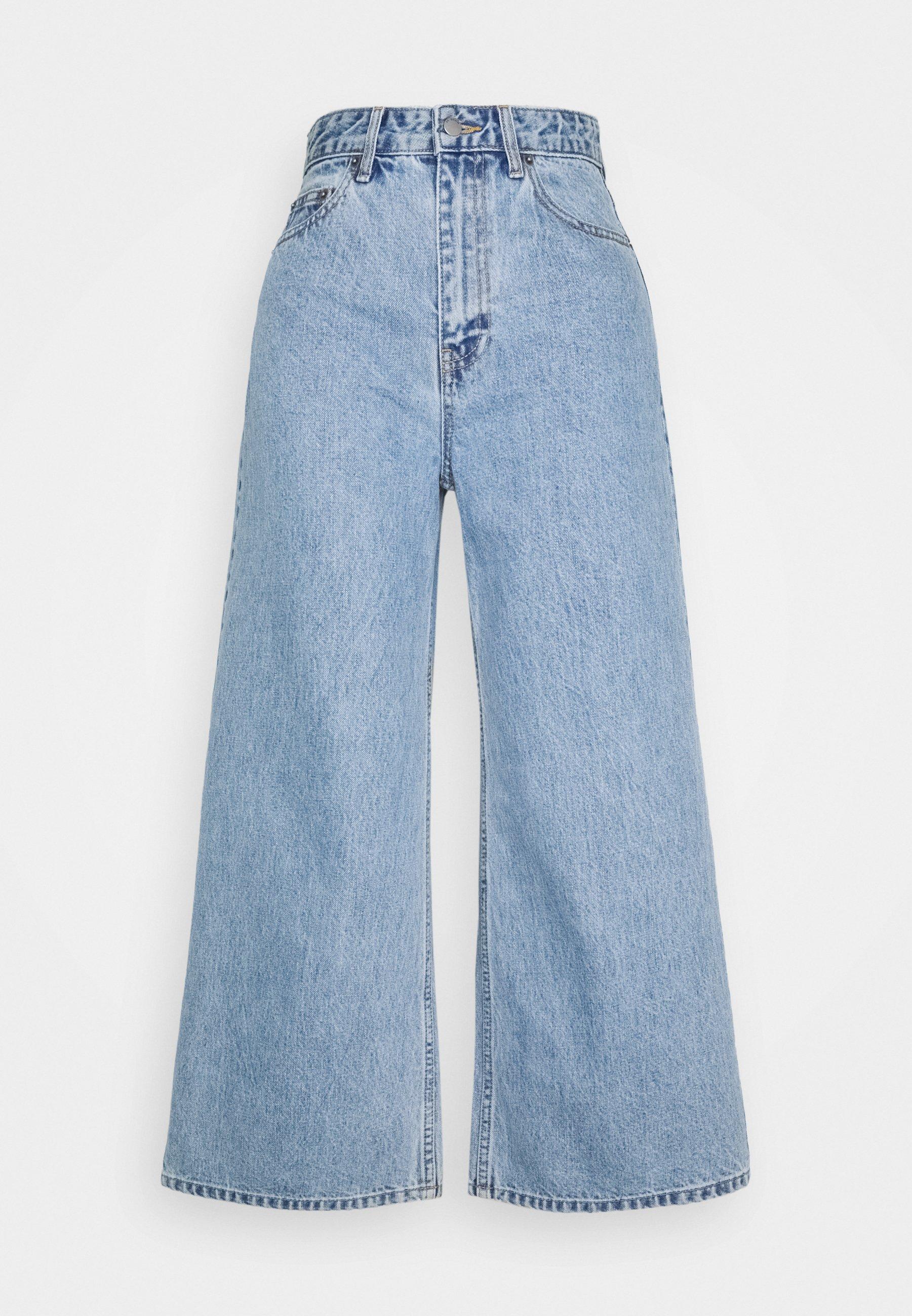 Donna AIKO CROPPED - Jeans a zampa
