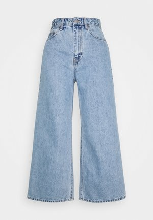 AIKO CROPPED - Flared jeans - light retro