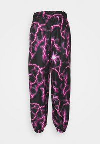 Missguided - LIGHTENING JOGGER - Joggebukse - black - 0