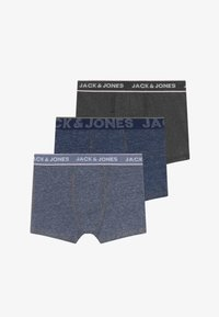 Jack & Jones Junior - JACDENIM TRUNKS 3 PACK - Pants - navy blazer/dark grey - 3