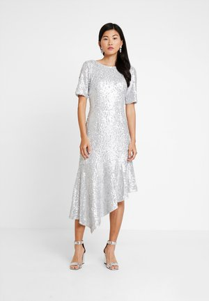 SEQUIN DRESS - Occasion wear - silver