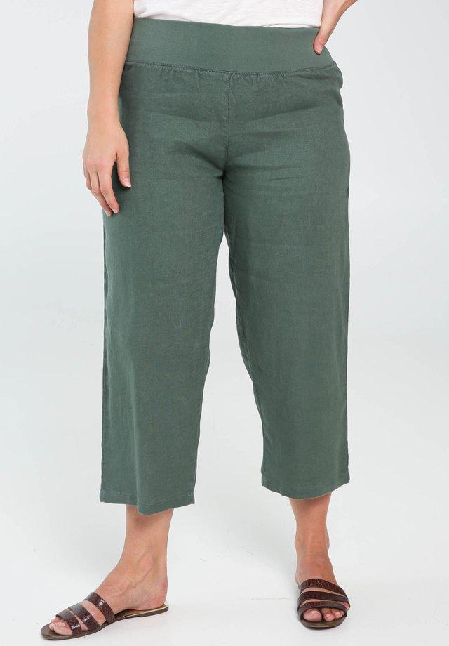 Tygbyxor - green