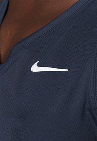 Nike Performance - TANK - T-shirt sportiva - obsidian/white - 4