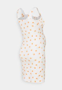 Glamorous Bloom - LADIES DRESS ROSE - Žerzejové šaty - white/orange - 1