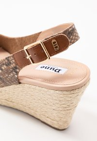 Dune London WIDE FIT - WIDE FIT KICKS  - Sandaler med høye hæler - natural - 2