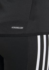 adidas Performance - Kurtka sportowa - black/white - 3