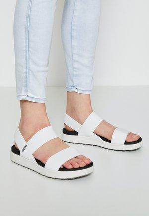 ELLE BACKSTRAP - Walking sandals - white