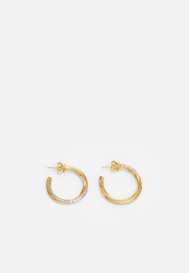 CAVALIER - Earrings - gold-coloured