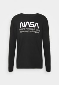 Cotton On - TBAR COLLABORATION TEE - Long sleeved top - black/nasa - space administration - 4