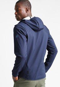 Jack Wolfskin - Soft shell jacket - night blue - 2