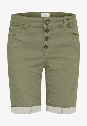 PZROSITA - Denim shorts - vetiver
