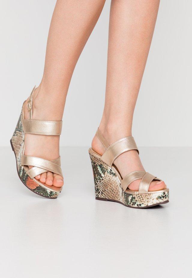 MOAVA BURITI - Korolliset sandaalit - multicolor