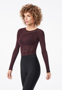 Wolford - POISON DART NET STRING - Body - chateau - 3