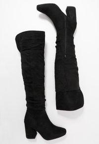 New Look - DELIGHT - Laarzen met hoge hak - black - 3