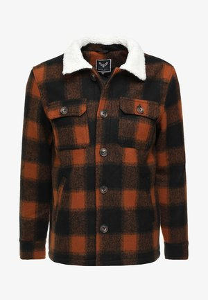 AUGUSTUS - Summer jacket - brown/orange