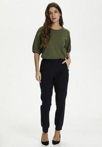 Kaffe - LINDA  - Basic T-shirt - grape leaf - 1
