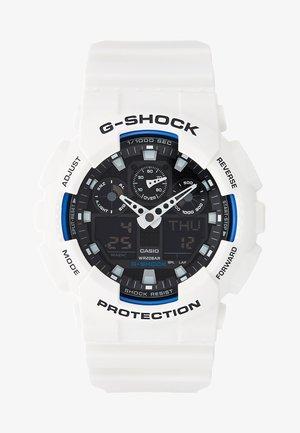 GA-100B-7AER - Chronograph watch - white