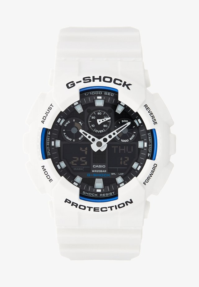 GA-100B-7AER - Chronograph watch - white