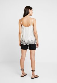 Esprit - STRIPE - Top - off white - 2