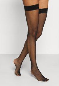 KUNERT - RAFFINESSE  - Over-the-knee socks - black - 1